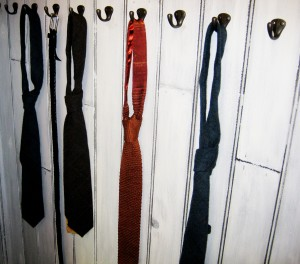 Ties available in 'Peters' showroom