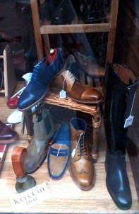 Shoes available at 'Peters' Chesterfield